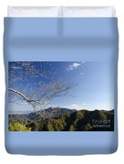View From The Great Wall 842 Duvet Cover