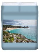 View From The Minack Theatre Duvet Cover