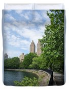 View From The Park West Side Duvet Cover