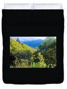 View From Trail To West Point Inn On Mount Tamalpais-california  Duvet Cover