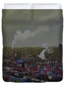 View From Viaduct Duvet Cover