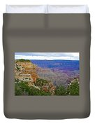 View From Walhalla Overlook On North Rim Of Grand Canyon-arizona  Duvet Cover