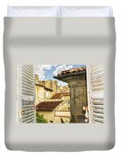 View In Cognac Duvet Cover