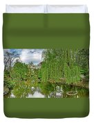 View Of A Botanical Garden, Krakow Duvet Cover