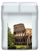View Of Colosseum Duvet Cover