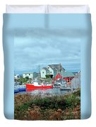 View Of Cove Duvet Cover