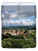View Of Tuscany Duvet Cover