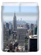 View Over Manhattan I Duvet Cover