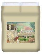 View Over Saint Emilion France 1 Duvet Cover