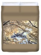 View Through The Trees Duvet Cover