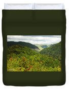 View To The Valley Duvet Cover