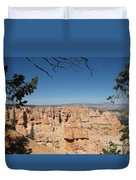 Viewpoint At Bryce Canyon  Duvet Cover