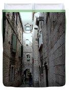 Views From Split Croatia Duvet Cover