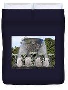 Vigelands Fountain 2 Duvet Cover