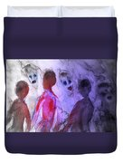 Been To The Ball And Going To The Nachspiel  Duvet Cover by Hilde Widerberg