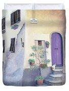 Villa Degli Algeri Tuscany Duvet Cover