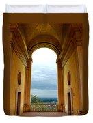 Villa Deste Tivoli Italy Duvet Cover