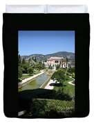 Villa Ephrussi De Rothschild And Garden Duvet Cover