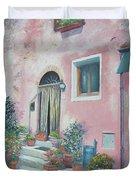 Villa In Il Borro Tuscany Duvet Cover
