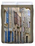 Village Apartments Duvet Cover