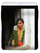 Village Girl India Duvet Cover