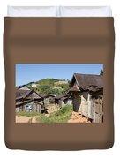 village in Madagascar Duvet Cover