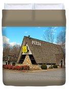 Village Inn Pizza Duvet Cover