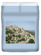 Village Of Gordes Duvet Cover
