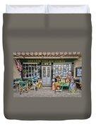 Village Stores 2 Duvet Cover