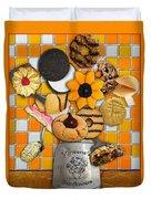 Vincent's Sunflower Cookie Jar Duvet Cover