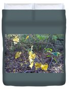 Vines On The Fence Duvet Cover