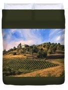Vineyard Near Avila Beach Duvet Cover