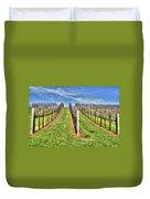 Vineyard Bodega Bay Duvet Cover