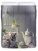 Vintage Afternoon Tea Duvet Cover