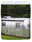 Vintage Airstream Trailer Duvet Cover
