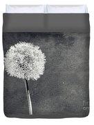 Vintage Allium Flower Duvet Cover