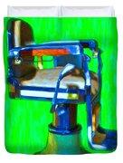 Vintage Barber Chair - 20130119 - V2 Duvet Cover