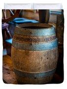 Vintage Barrel Duvet Cover