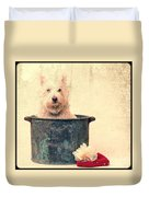 Vintage Bathtime Duvet Cover