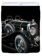 Vintage Bentley 4.5 Liter Le Mans Duvet Cover