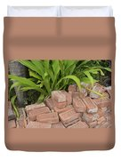 Vintage Brick Duvet Cover