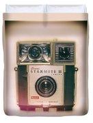 Vintage Brownie Starmite Camera Duvet Cover