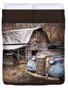 Vintage Chevrolet Duvet Cover