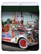 Vintage Chevrolet In Seligman Duvet Cover