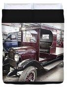 Vintage Chevrolet Pickup Truck Duvet Cover by Douglas Barnard