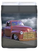 Vintage Chevy 1949 Duvet Cover