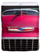 Vintage Chevy Bel Air Duvet Cover