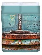 Vintage Chevy Rust  Duvet Cover