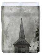 Vintage Church Duvet Cover