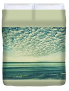 Vintage Clouds Duvet Cover